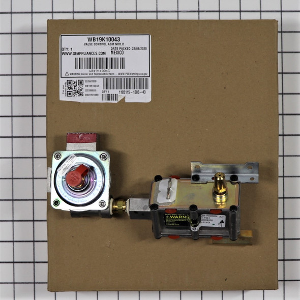 Part Number WB19K10043 replaces WB19K10017