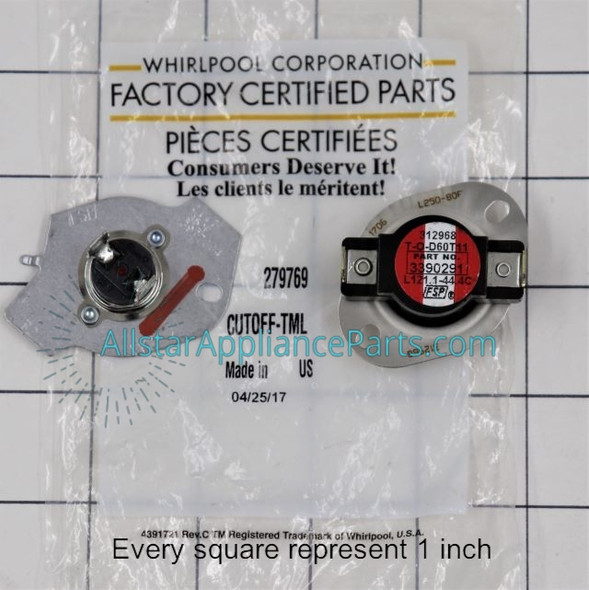 Part Number 279769 replaces 2004, 279548, 2796769, 279769VP, 3387812, 3389946, 3398671, 3977394, 695563, 80001