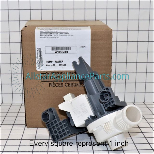 Part Number W10876600 replaces W10727777, W10876600VP