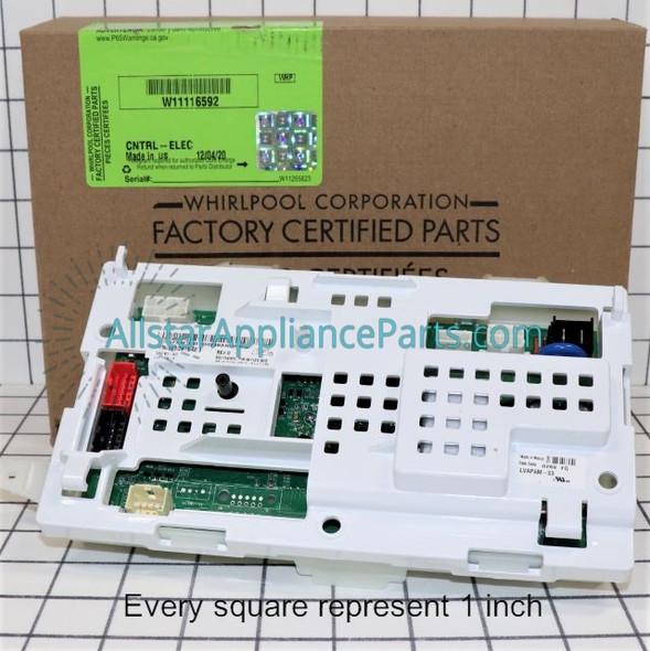 Part Number W11116592 replaces W10803588, W10831168, W10865068, W10916226, W10916483