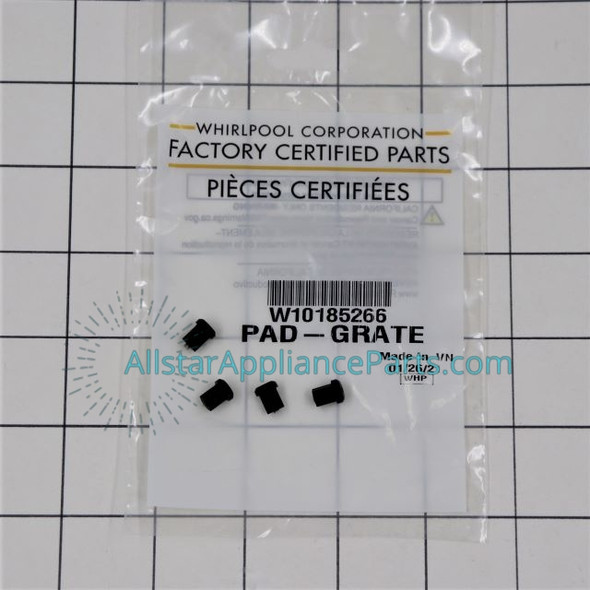 Part Number W10185266 replaces 8286695, W11306486