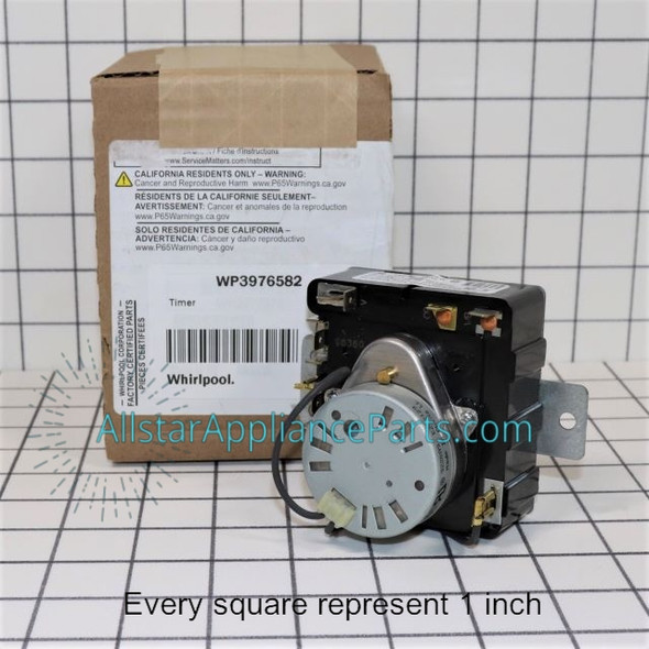 Part Number WP3976582 replaces 3406717, 3976582