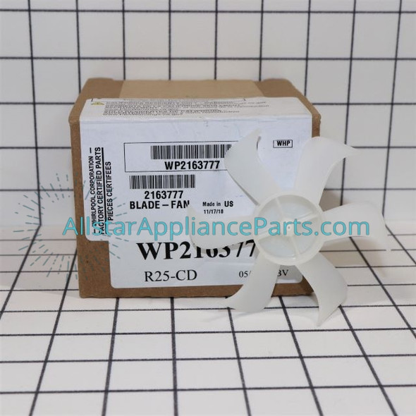 Part Number WP2163777 replaces 2163777, 2200509
