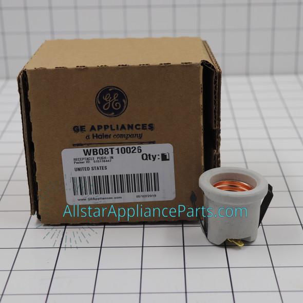 Part Number WB08T10026 replaces  WB08K0002,  WB08T10004,  WB08X5060,  WB08X5095,  WB8K2,  WB8T10004,  WB8T10026,  WB8X5060,  WB8X5095