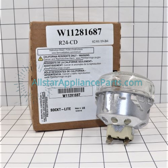 Part Number W11281687 replaces 3150505, 3176512, 3196701, 880009, 880012, 9750925, 9781050, W10454648, W10512757, W10565174, W11175594, WPW10454648
