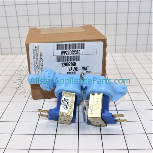 Part Number WP22002360 replaces  22002360