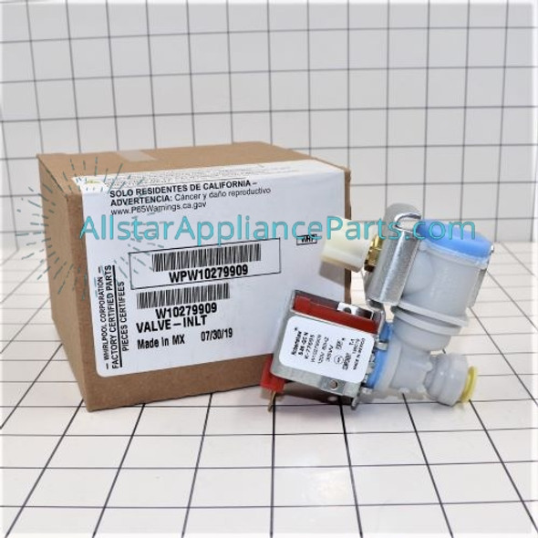 Part Number WPW10279909 replaces W10279909, W10498995