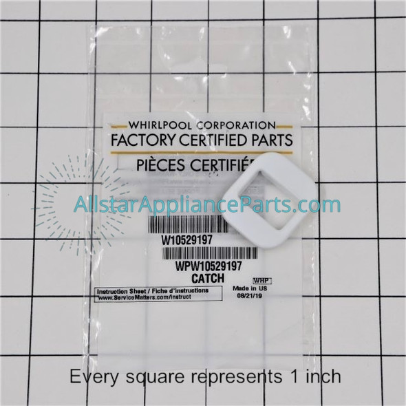 Part Number WPW10529197 replaces  W10529197