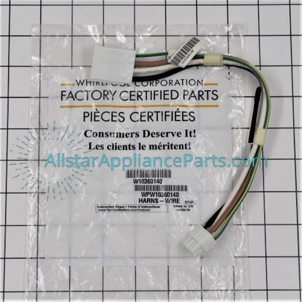 Part Number WPW10360140 replaces W10360140