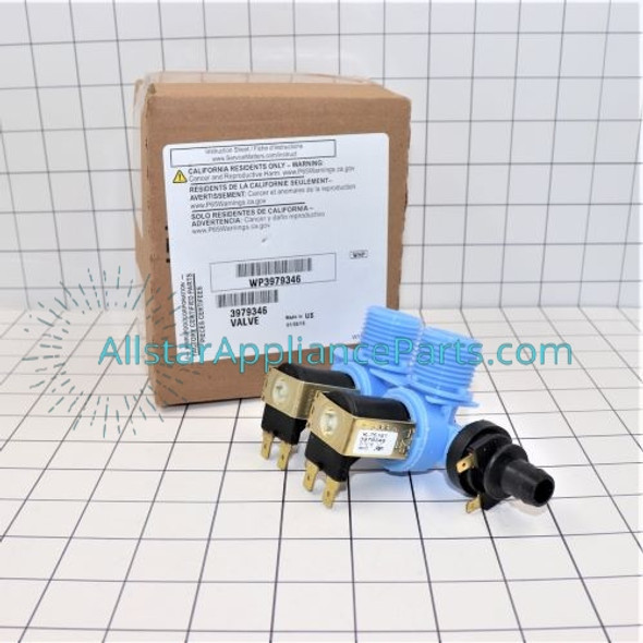 Part Number WP3979346 replaces 3979346, 3979347, 8578342, WP3979346VP