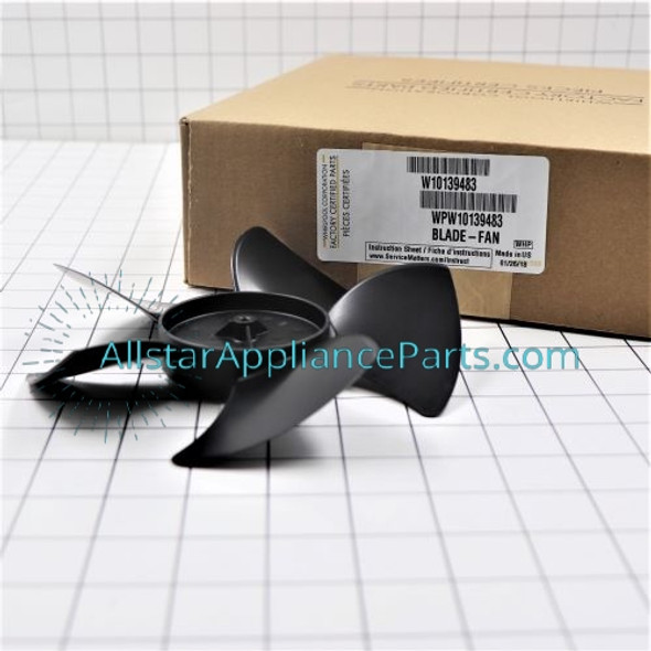 Part Number WPW10139483 replaces W10139483