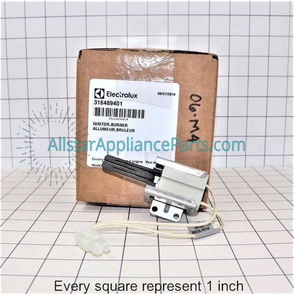 Part Number 316489401 replaces 316428601, 7316489401