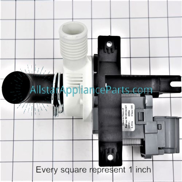Part Number W10536347 replaces 8542672, W10049390, W10155921, W10217134, W10281682, W10536347