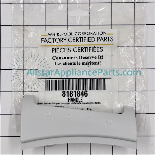 Part Number WP8181846 replaces  8181846,  WP8181846VP