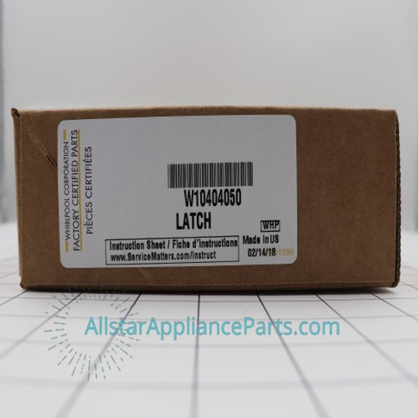Part Number W10404050 replaces W10238287, W10404050VP, W10744659