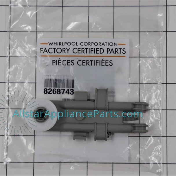 Part Number WP8268743 replaces 8268743, WP8268743VP