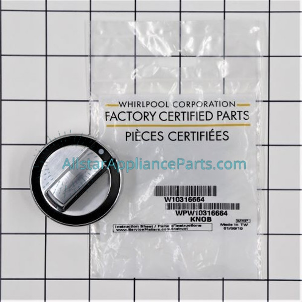 Part Number WPW10316664 replaces  W10316664
