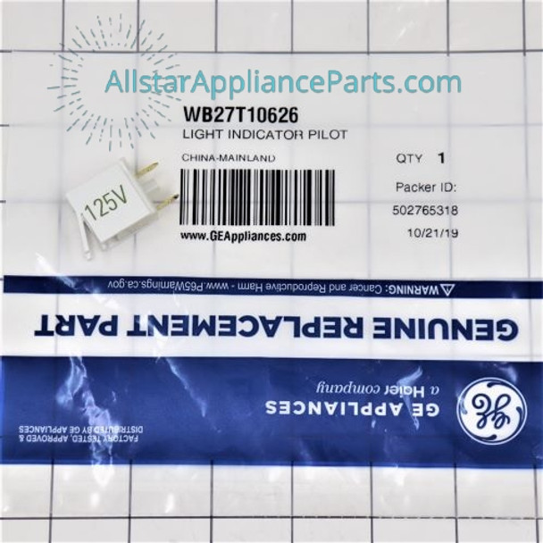 Part Number WB27T10626 replaces  WB27T10113