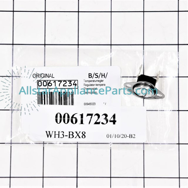 Part Number 00617234 replaces 617234