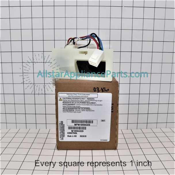 Part Number WPW10594329 replaces W10207517, W10594329