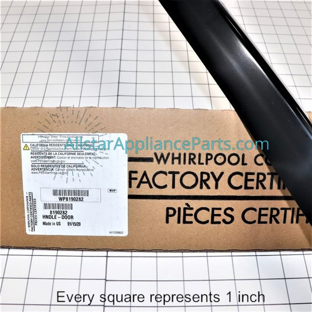 Part Number WP8190282 replaces 8190282, 8273921, 9757219