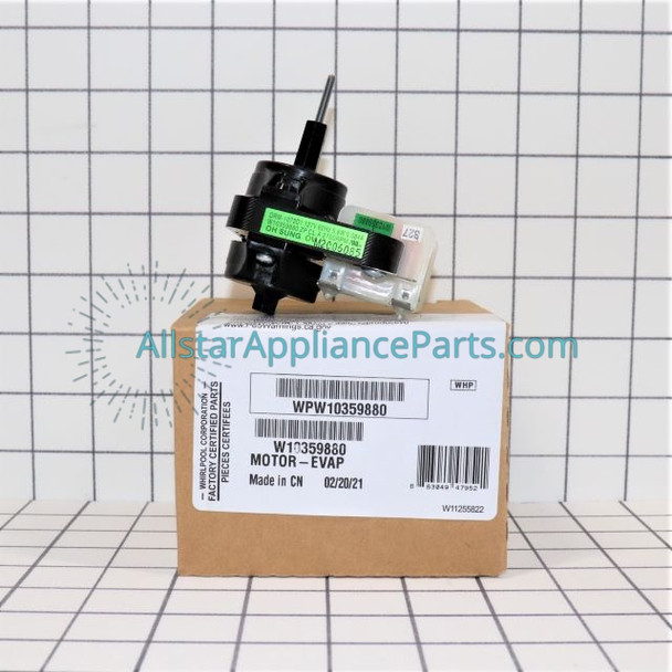 Part Number WPW10359880 replaces W10359880