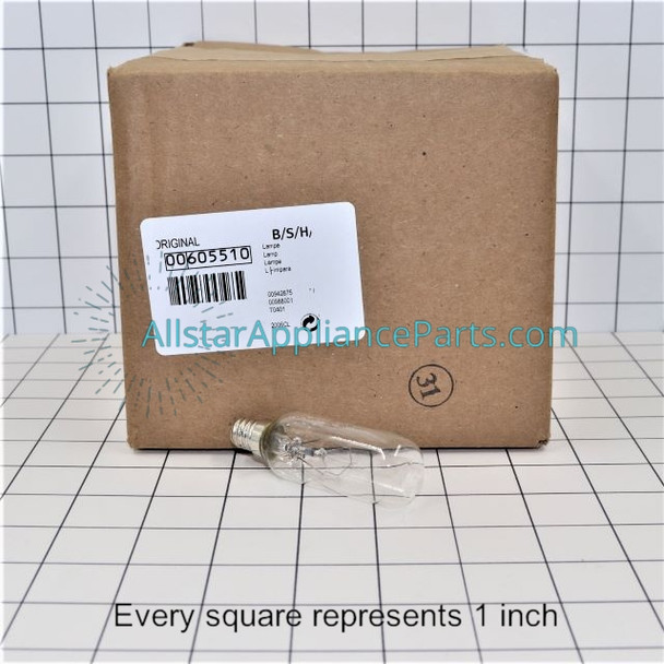 Part Number 00605510 replaces 605510