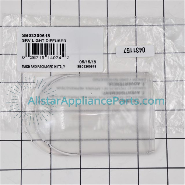 Part Number SB03200618 replaces B03200618