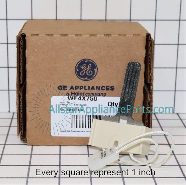 Part Number WE4X750 replaces  WE04X0750