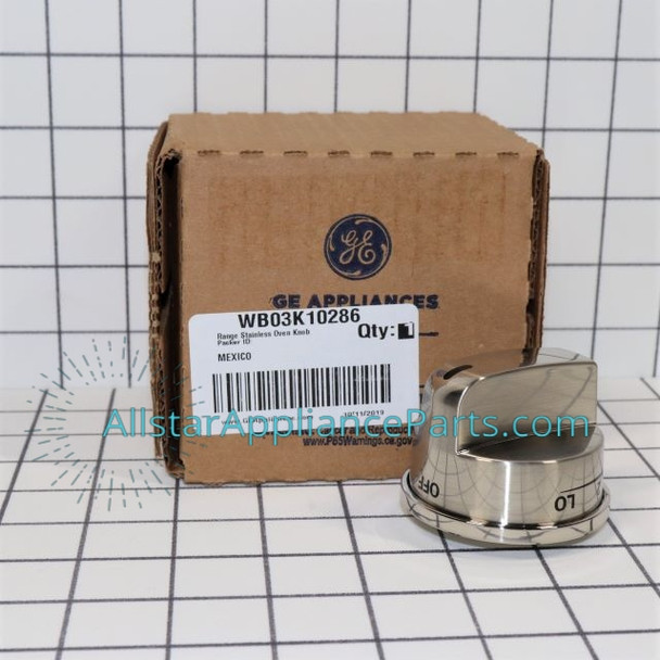 Part Number WB03K10286 replaces WB03K10214