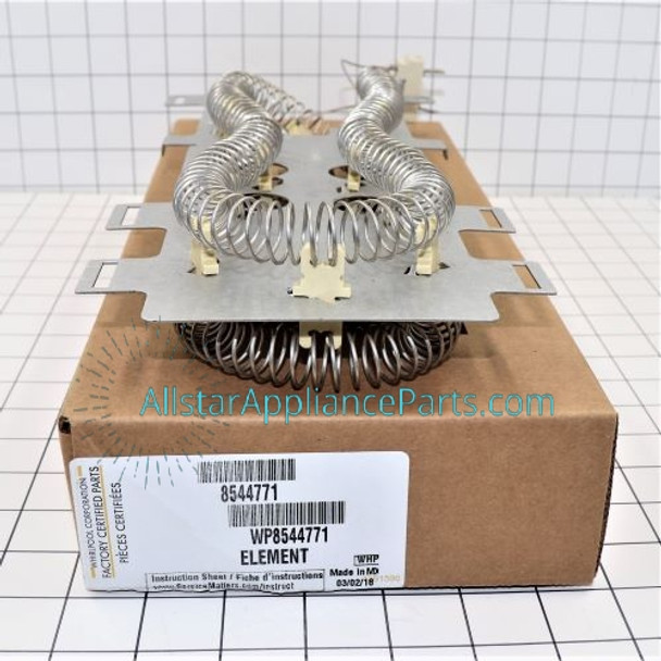 Part Number WP8544771 replaces 8544771, W10836011, WP8544771VP