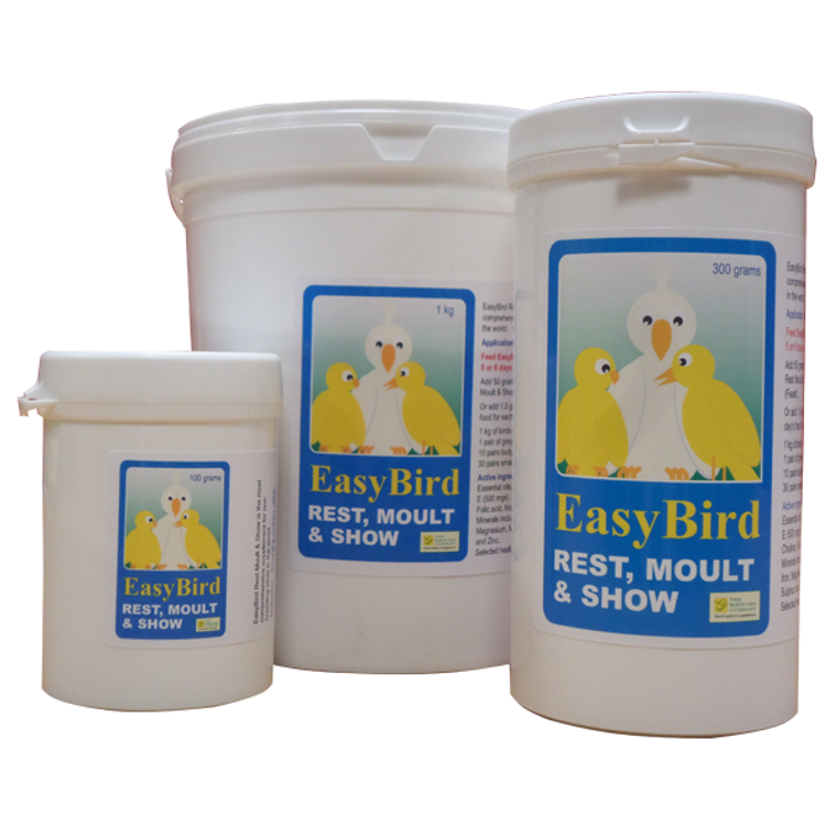 Moulting supplement for birds.