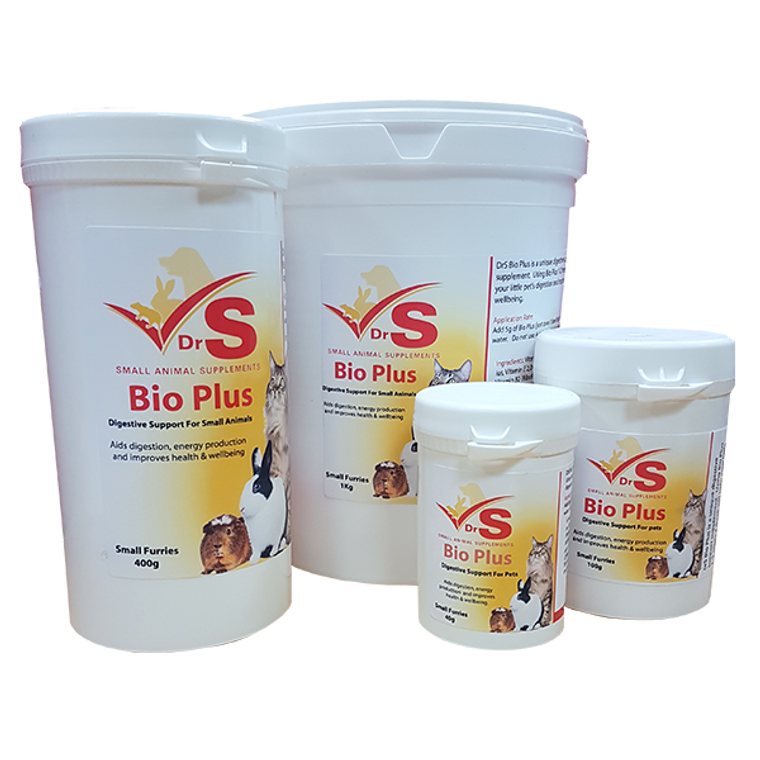 There is only one dried probiotic to consider when looking to support your pets digestive system and that's BioPlus.  This gem of a product helps restore beneficial bacteria to the gut and conditions the gut to make it more favourable for friendly bacteria.
