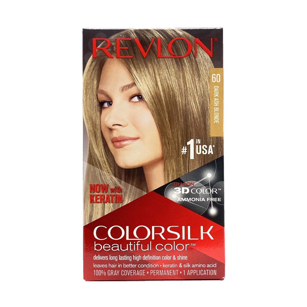 Revlon Colorsilk Dark Ash Blonde 18 Hair Color