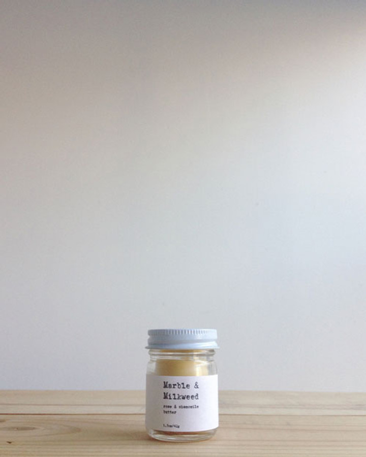 rose & chamomile butter