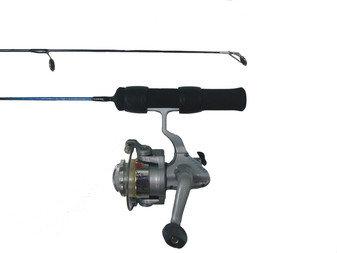 """HARDWATER 24"""" LIGHT ACTION ICE COMBO W/ OPT-101S 1/BB"""