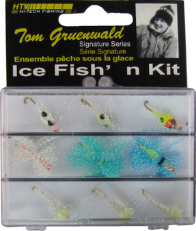 9 PIECE PANFISH ICE FISH'N KIT