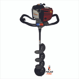 "POLAR FIRE SABRE FX 4 CYCLE POWER AUGER -- 35CC 10"" DIAMETER"