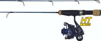 "ICE LOGIC SLX SERIES 25"" LIGHT ACTION W/4BEARING ILC-104A REEL"