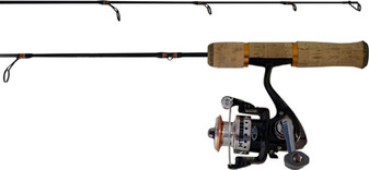 "TGO SELECTS SERIES 26"" MEDIUM LIGHT ACTION W/5BEARING TGO-105A REEL"