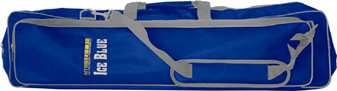 ICE BLUE GEAR BAG - 3 LARGE COMPARTMENTS W/ADJUSTABLE CARRY STRAP