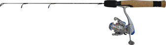 "POLAR FIRE BLUE 24"" ULTRALIGHT COMBO W/PFB-106A REEL"