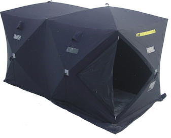 Contains Shelter Outer Shell Material with Sewn-In Doors, Zippers and Velcroed Windows 300 Denier Polyester Material
