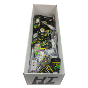 HT LURE ASSORTMENT - 72 LURES PER BOX