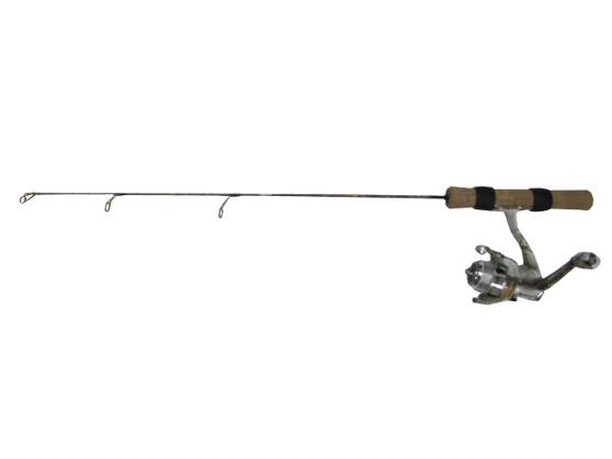 """FISH HUNTER SNOW COMBO 27"""" MED-LIGHT W/SCAR-102 REEL"""
