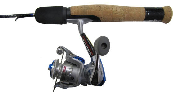 "POLAR FIRE BLUE 26"" MEDIUM COMBO W/PFB-106A REEL"