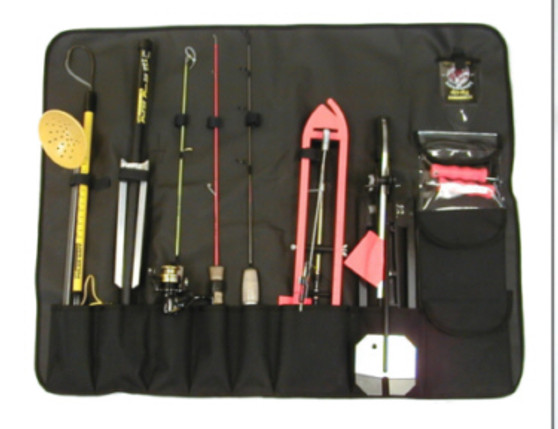 TIP UP / ICE ROD TOTE CARRYING CASE W/ HANDLE