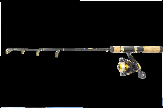28 POLAR GOLD COMBO MEDIUM HEAVY ACTION W/DS-102G 2B IAR REEL W/LINE