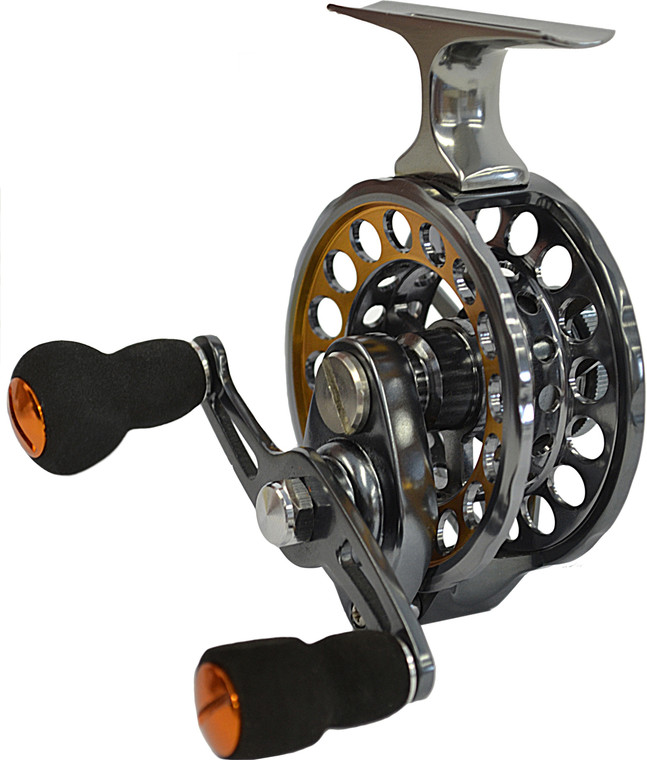 POLAR FIRE DELUXE TIGHTLINE REEL W/4 BEARINGS AND POS. DRAG SYSTEM