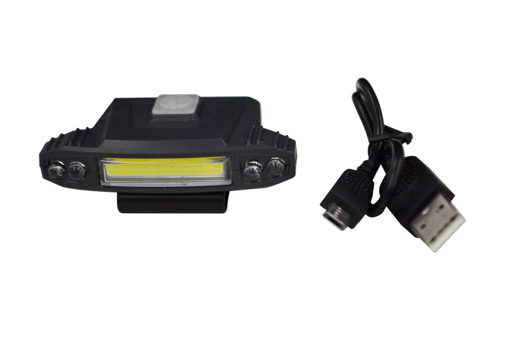 LUMINATOR LED CAP LIGHT WITH 4 MODES WITH USB CHARGER